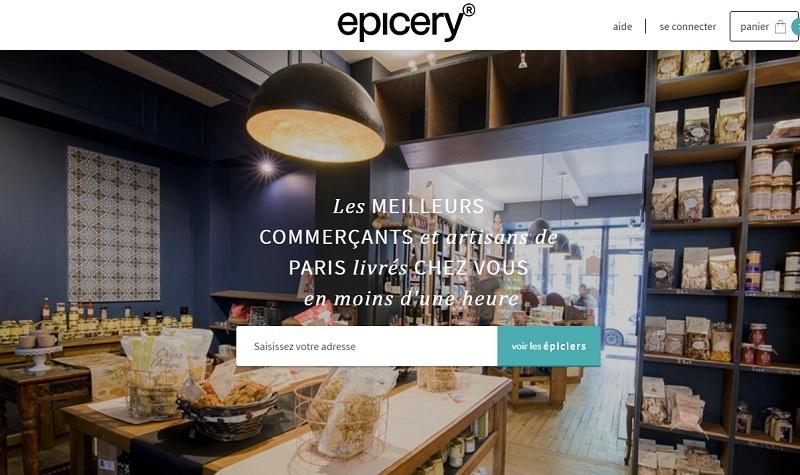 Epicery Foodtech Epicerie en ligne de fruits et légumes, viande, laitage, etc.