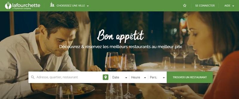 Sur la Fourchette, faites votre réservation des meilleures tables en ligne