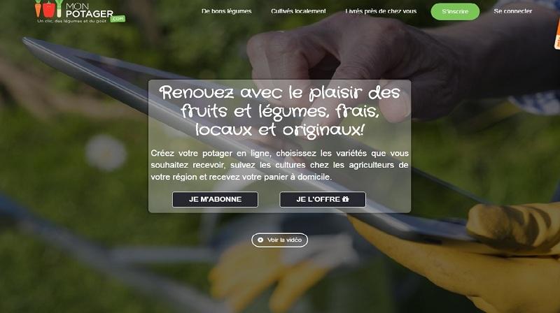 Monpotager. com est une plateforme qui vous permet de cultiver un potager en ligne