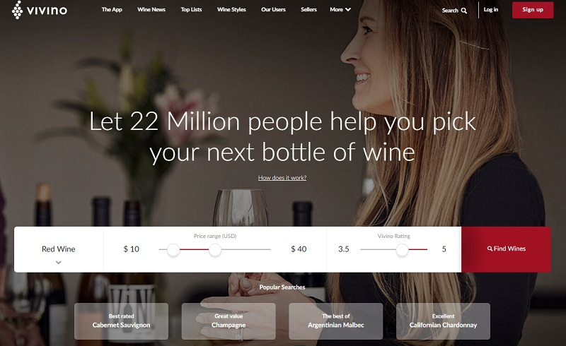 vivino winetech vin application