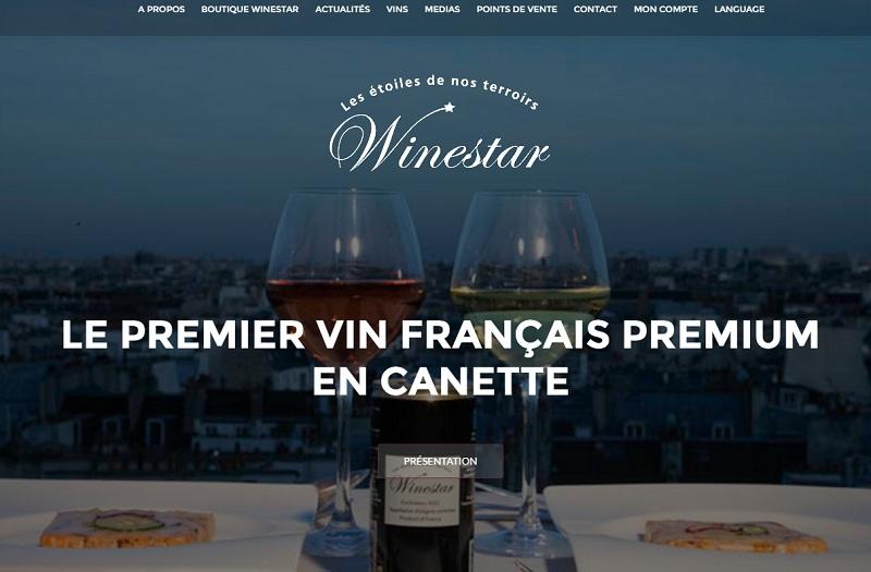 winestar vin canette