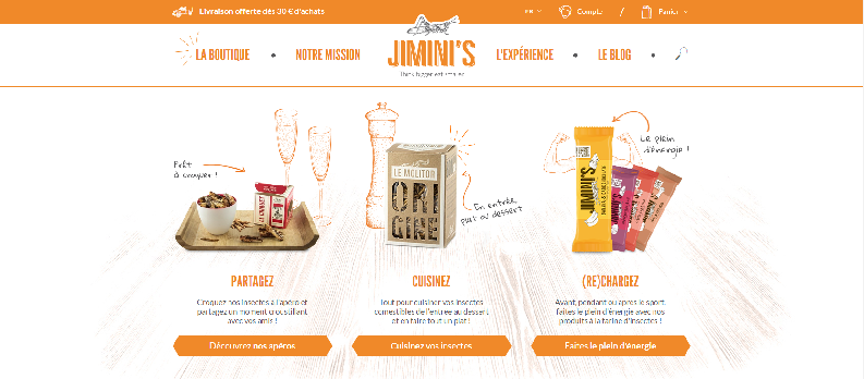 Jimini's Foodtech