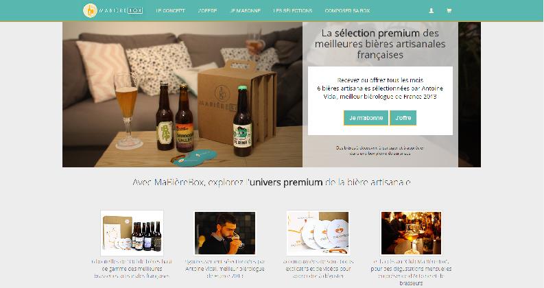 MaBière Box foodtech