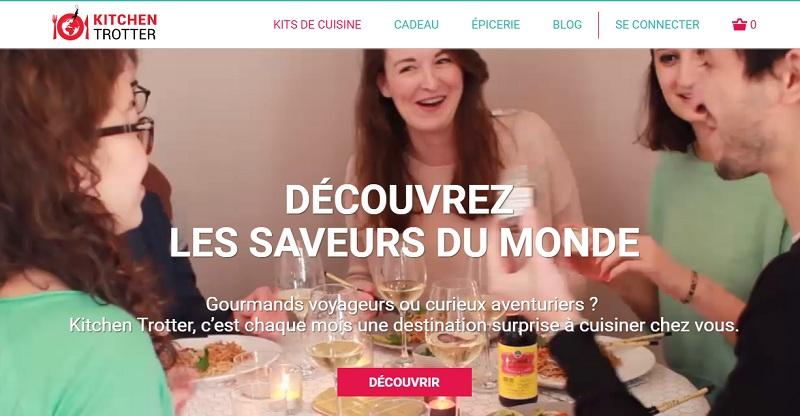 kitchen trotter kit cuisine ingrédient exotique foodtech