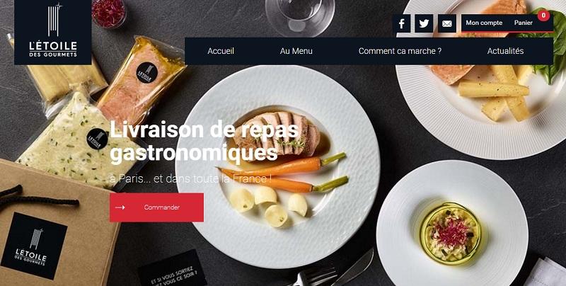 l'étoile des gourmets livraison repas gastronomique foodtech