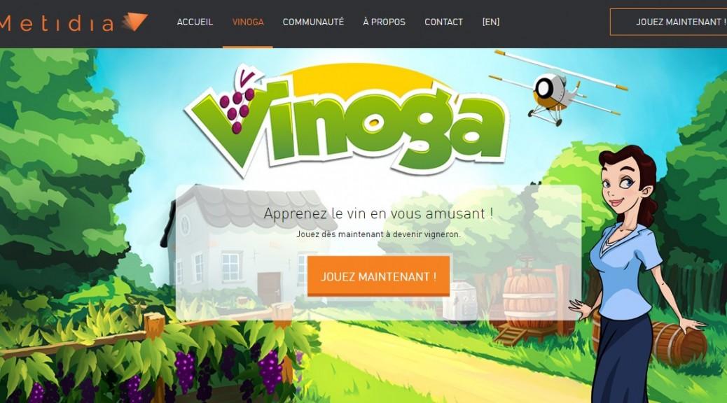 vinoga metidia winetech jeu vidéo
