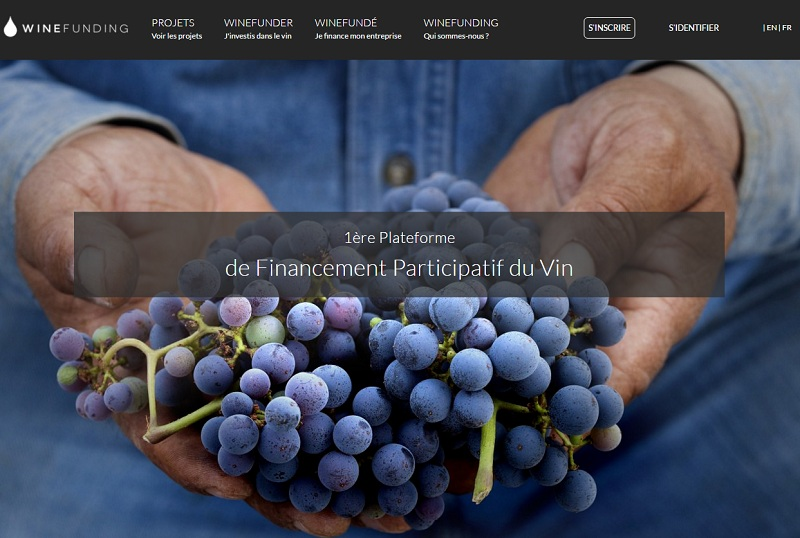 winefunding crownfunding vin winetech